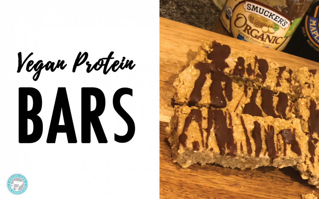 No-Bake Peanut Butter Vegan Protein Bars